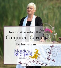 Conjuring Hoodoo & Voodoo Magic  Conjured Cardea exclusive Interview + Moma Sarah's Syrup Jar