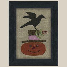 Wool Applique Pattern  Happy Jack by FiddlestixDesign on Etsy, $3.95