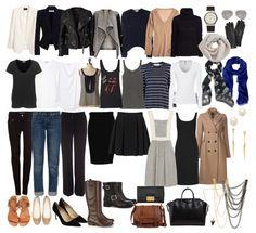 Clean and chic: French-Wardrobe-Parisian-Fashion-List-Essentials-Items