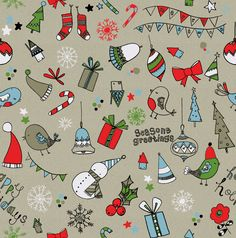 Carly Gledhill Illustration: Christmas patterns