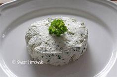 6 geitenkaas van kefir met kruiden
