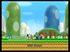 New Super Mario Bros. Let's Play Duo Ep.1 - Naga Stole My Yoshi
