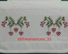 This Pin was discovered by Emi Small Cross Stitch, Cross Stitch Borders, Cross Stitch Flowers, Cross Stitch Patterns, Diy And Crafts, Arts And Crafts, Bargello, Christmas Cross, Handicraft