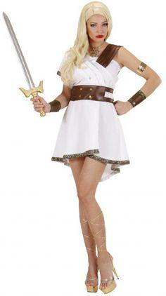 Disfraz de Guerrera Olímpica para mujer
