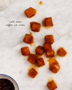 Homemade Cold Brew Coffee Ice Cubes / loveandlemons.com