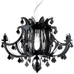 Ginetta Chandelier (Black) - OPEN BOX RETURN