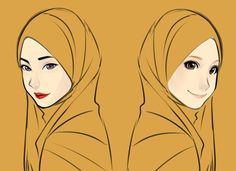 Hijab Drawing : try different style its fun~~ its been awhile i didn't draw Hija. Hijab Drawing : try different style its fun~~ its been awhile i didn't draw Hijab girl… Cartoon Sketches, Drawing Sketches, Art Drawings, Animation Sketches, Cartoon Art, Character Inspiration, Character Design, Hijab Drawing, Anime Muslim