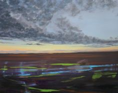 Olivier Masmonteil Le Paysage Nu, 2012 Oil and acrylic on canvas 160 x 200 cm | Galerie Dukan