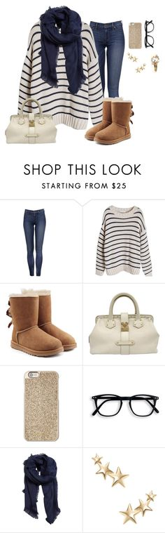 """""""Cold weather"""" by catty-glitter-girl on Polyvore featuring UGG, Louis Vuitton, Michael Kors, MANGO and Kenneth Jay Lane"""