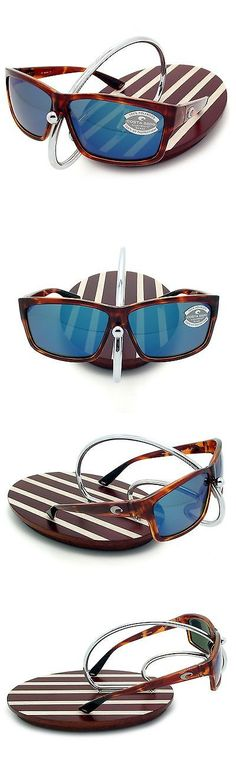 4fa7f03e6b6 Sunglasses 151543  New Costa Del Mar Cut Honey Tortoise 580 Blue Mirror  Glass 580G -