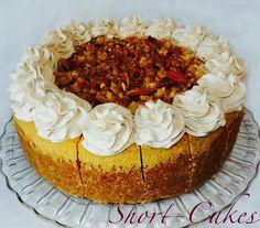Signature Pumpkin Streusel Cheesecake.