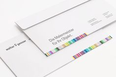 """I am really happy how this identity turned out. Here is an another shot from the package. """"Walter und Gesser"""" envelopes.— identity design for a painting company from Hanau, Germany.  #logo #logos #branding #branddesign #identity #identitydesign #thedesigntip #graphicdesign #graphicdesigner #logodesigner #logodesign #brandidentity #corporateidentity #simplycooldesign #painting #startup #business #thebrandidentity #minimal #typography #startuplife #entrepreneurs #branding101 #logoinspirations…"""