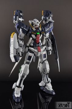 GUNDAM GUY: MG 1/100 Hi-Exia - Custom Build