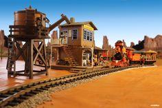 playmobil western train - Google Search