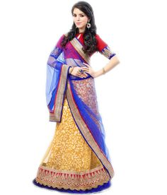 Wonderful Embroiderd Bridal Mix n Match Lehenga Choli in Rich Yellow