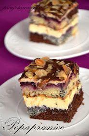 Przepisy Magdy: Popapraniec Lemon Cheesecake Recipes, Chocolate Cheesecake Recipes, Polish Desserts, Polish Recipes, Cookie Recipes, Dessert Recipes, Czech Recipes, Homemade Cakes, No Bake Cake