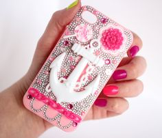 Anchor Decoden iPhone 4 Case by ColorMeKawaii on Etsy, $26.00