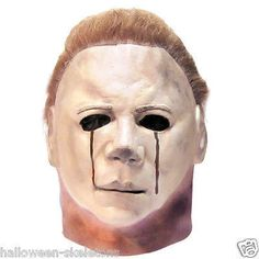 MICHAEL MYERS BLOOD TEARS Halloween Mask- You Become The Halloween Prop