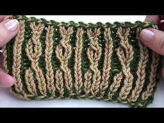 Dibujo sencillo en punto brioche - YouTube Knitting Stitches, Knitting Patterns, Crochet Patterns, Fingerless Gloves, Arm Warmers, Ravelry, Knit Crochet, Virginia, Design