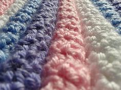 'No Holes' Baby Blanket ~ free pattern#
