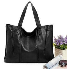 Woman Genuine Leather Handbag Large Cowhide Handbags Big Tote High Quality Women's Messenger Bags Shoulder Bag Bolsos Mujer