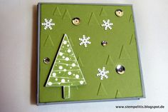 Stempelitis, Minialbum, Weihnachtsalbum, Christmas, Stampin up, Album, Photos