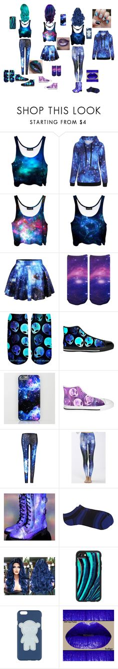 """Galaxy Girls"" by catnor01 ❤ liked on Polyvore featuring WithChic, Barneys New York, Casetify and Emporio Armani"