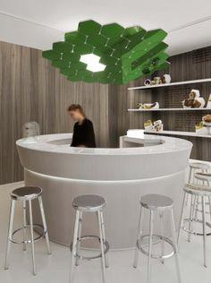 WikiBar Paris, France  A project by: Mathieu Lehanneur  Interior
