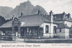 Rondebosch and Mowbray cottage hospital - Cape Dutch, Most Beautiful Cities, Places Of Interest, Old Buildings, Historical Pictures, African History, Cape Town, Live, Old Photos