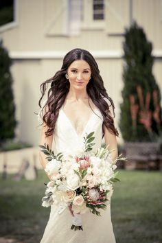 Rustic and beautiful Bride: http://www.stylemepretty.com/2014/11/10/rustic-springtime-texas-wedding/ |  Photography: Arthur Garcia - www.selectstudiosphoto.com