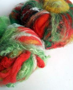 Image of DOUBLE SET Bricobatt + Betty Batt nO. 1 wool fiber batts for spinning, felting, quilting