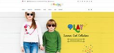 Best Shopify Themes For Baby/Kids Store,Toys Store,Baby Clothing store Kids Store, Baby Store, Best Shopify Themes, Storing Baby Clothes, Casual Wear, Baby Kids, Kids Fashion, Suits, Website