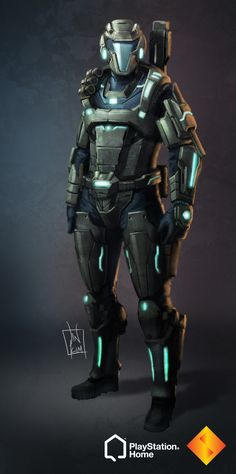 PS Home: Blackhawk Combat Suit by geeshin on DeviantArt