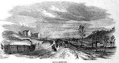 Le train de l'inauguration de la première section de la Petite Ceinture Rive Droite en 1852