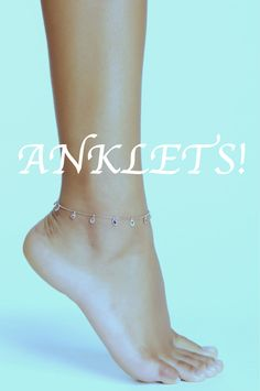 Amorium's anklet collection!