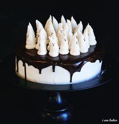 Halloween boo cakes!