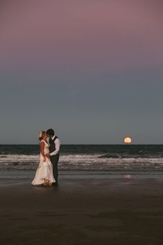 A kiss under the full moon | Mission Beach wedding | Zen Photography | Cairns Wedding and Portrait Photography - 2/19 - Documentary wedding and portrait photography | Cairns, Australia