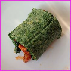 Spinazie wrap - Spinach wrap - paleo - recipe - ByJR