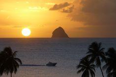 Coucher de soleil -  Photos de vacances de Antilles Location #Martinique