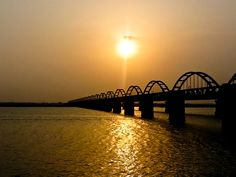 Bridge over Godavari - Rajahmundry