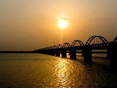 Bridge over Godavari - Rajahmundry