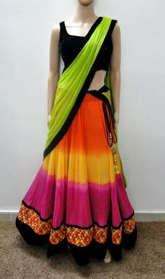 Indian Jewellery and Clothing: Amazing designs of #lehngas from Varuna Jithesh from Hyderabad..