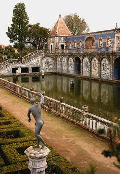 Fronteira #palace gardens #Lisboa, Portugal