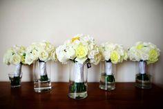 Bride & Bridesmaids Bouquets.