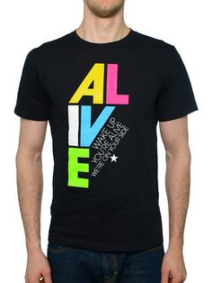 To Write Love on Her Arms Official Online Store - Alive Guys Shirt