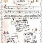 Included:  1 Medicine safety rules graphic organizer already prewritten. Great resource to print and distribute to students, hang in the classroom,...