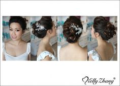 wedding hair updo - Michelle_012113
