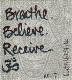 Fancy - Breathe, Believe, Receive