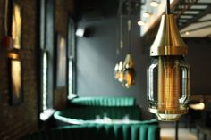 Jue Lan Club restaurant by Dutch East Design, New York City Luxury Restaurant, Restaurant Lighting, Restaurant Interior Design, Chinese Restaurant, Restaurant Bar, Private Dining Room, Contract Furniture, Hanging Pendants, Hospitality Design