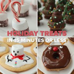 Get your kids to help you make these adorable holiday treats. They're as easy as signing up for GEICO, where you could save or more on car insurance. Try these simple recipes for Hot-Chocolate Dippers, Peanut Butter Christmas Trees, Melty Snowman Cook Holiday Cookies, Holiday Desserts, Holiday Baking, Holiday Treats, Holiday Recipes, Winter Treats, Holiday Signs, Halloween Kid Treats, Halloween Cupcakes Easy